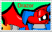 Drazor Fan Stamp by DarkTidalWave
