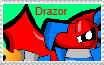 Drazor Fan Stamp by DarkTidalWave