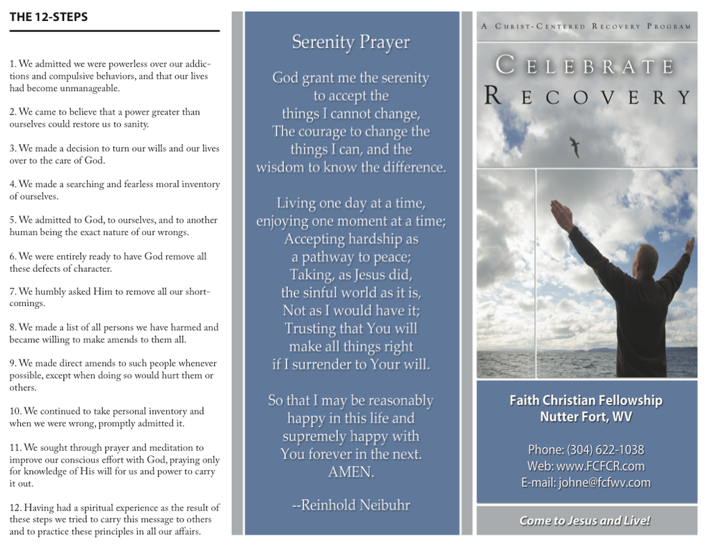 Tri fold brochure celebrate recovery by jennmurray on deviantart tri fold brochure celebrate recovery by jennmurray colourmoves