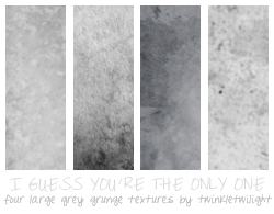 Large Grey Grunge Textures by twinkletwilight