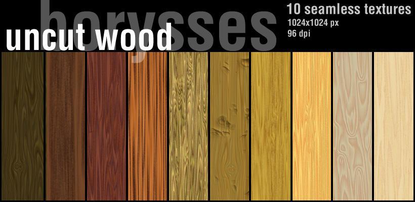 Wood uncut by borysses