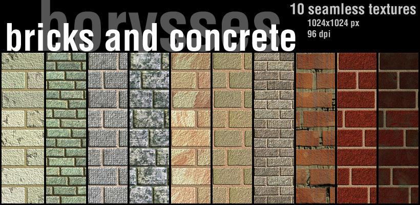 Bricks and concrete by borysses