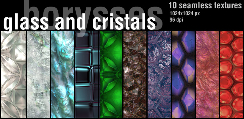Glass and crystals