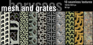 Mesh and grates