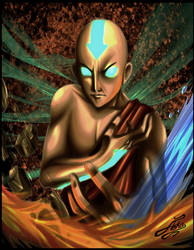 The last Airbender by Nouin