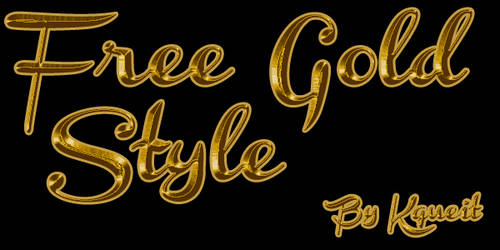 Free Gold Style Oro by Kqueit
