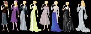 Narcissa Malfoy-Haute Couture by martinacecilia