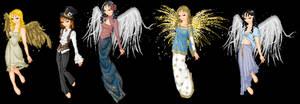Binael - Angel kiss doll by martinacecilia