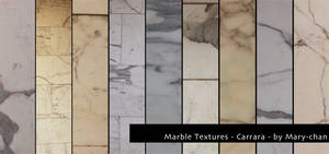 Marble Textures - Carrara by martinacecilia
