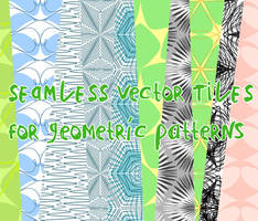 Geometric vector patterns by martinacecilia