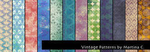 Vintage patterns pack