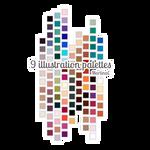 Illustration palettes