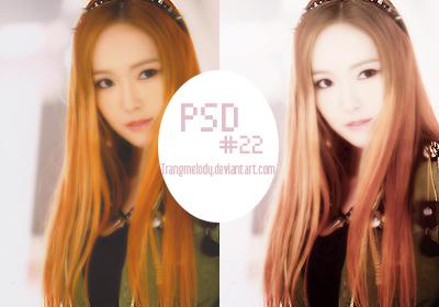 PSD #22 by TrangMelody