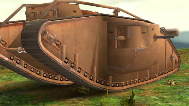 Mark 4 Tank Costume