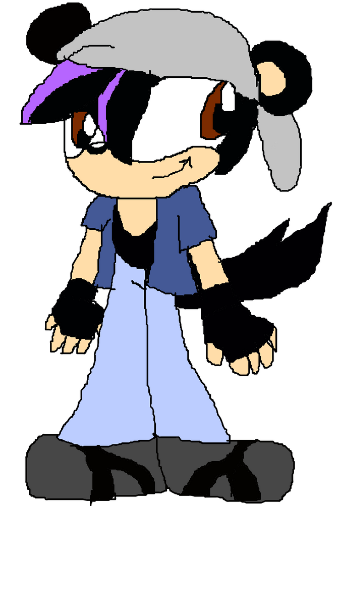 Travis the Mongoose-Wolf(800th post) by TjTheHedgiePlz
