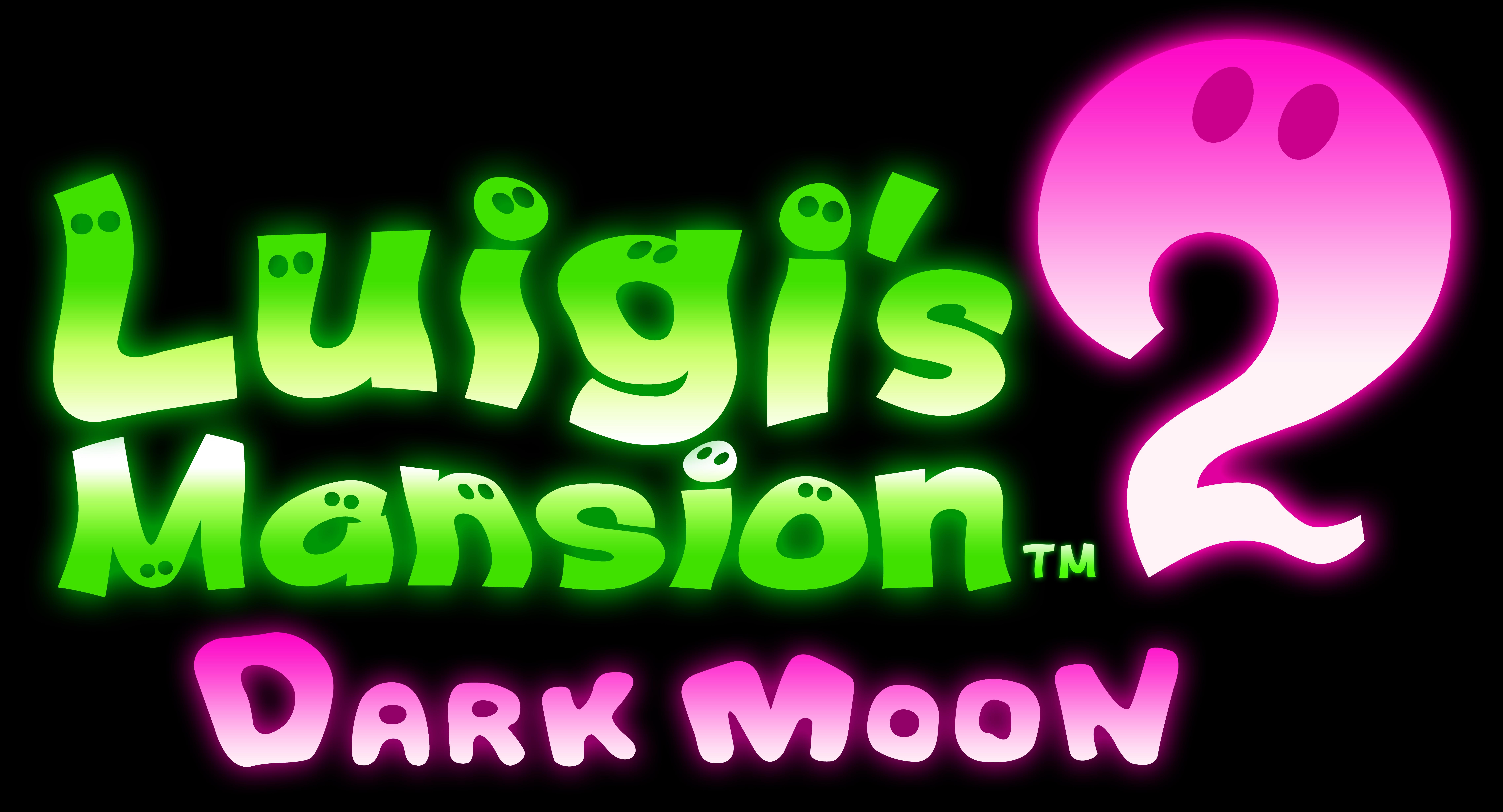 Luigi S Mansion 2 Dark Moon Logo Render By Shadicstudios