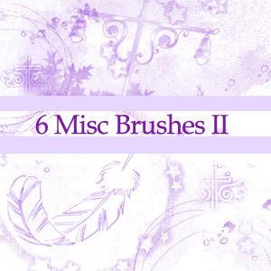 Misc Brushes 2 by nejika
