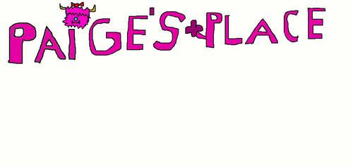 Paige's place logo (better version)