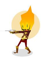 Guacamelee flameface by cryptgarden