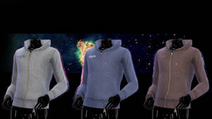 [MMD] TDA Adult Male Fitted Hoodie DOWNLOAD!