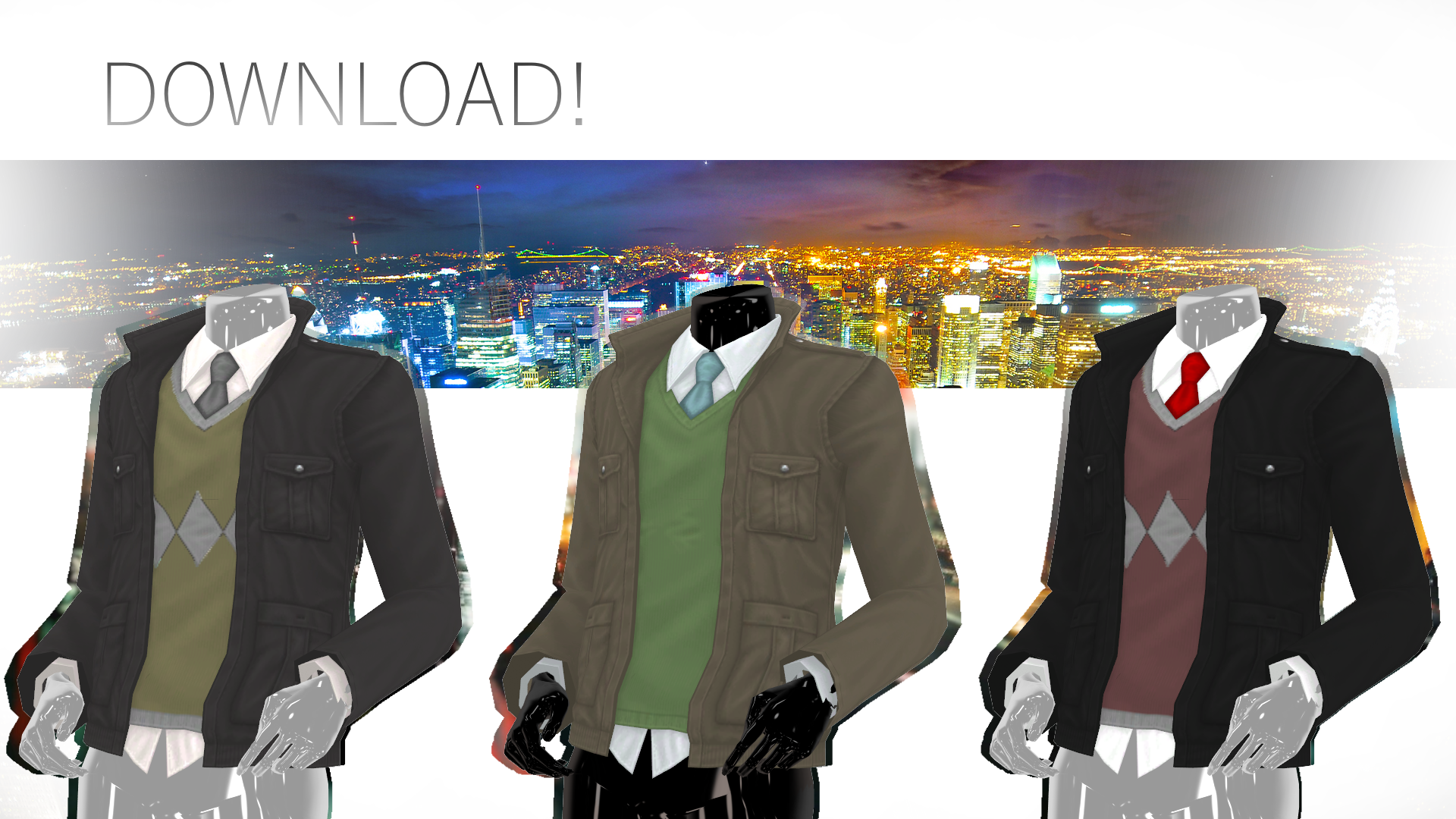 Tda Adult Male Fitted Jacket Download By Nephnashine P On Deviantart