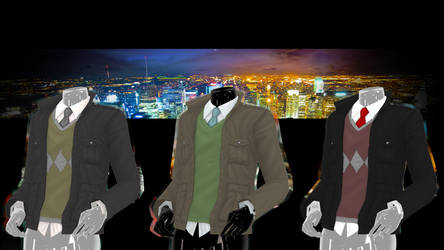 TDA Adult Male Fitted Jacket DOWNLOAD!