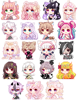 Pixel Icons [moved] by Yumemin