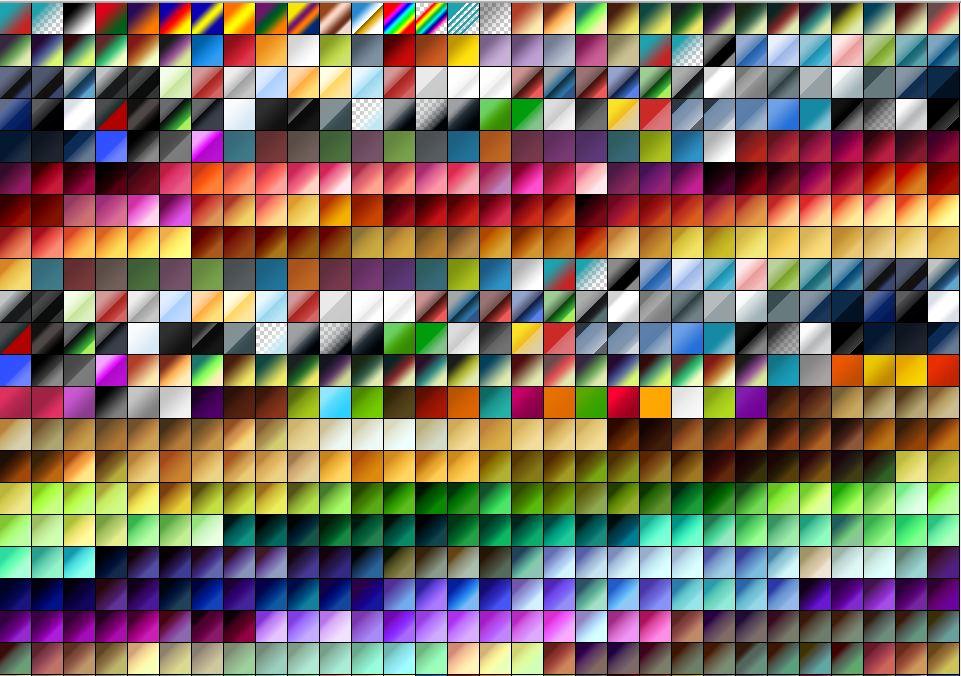 Zero's Huge Gradient Pack of 2000 gradients!