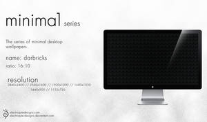 minima1 series - darbricks by electroqute-designs