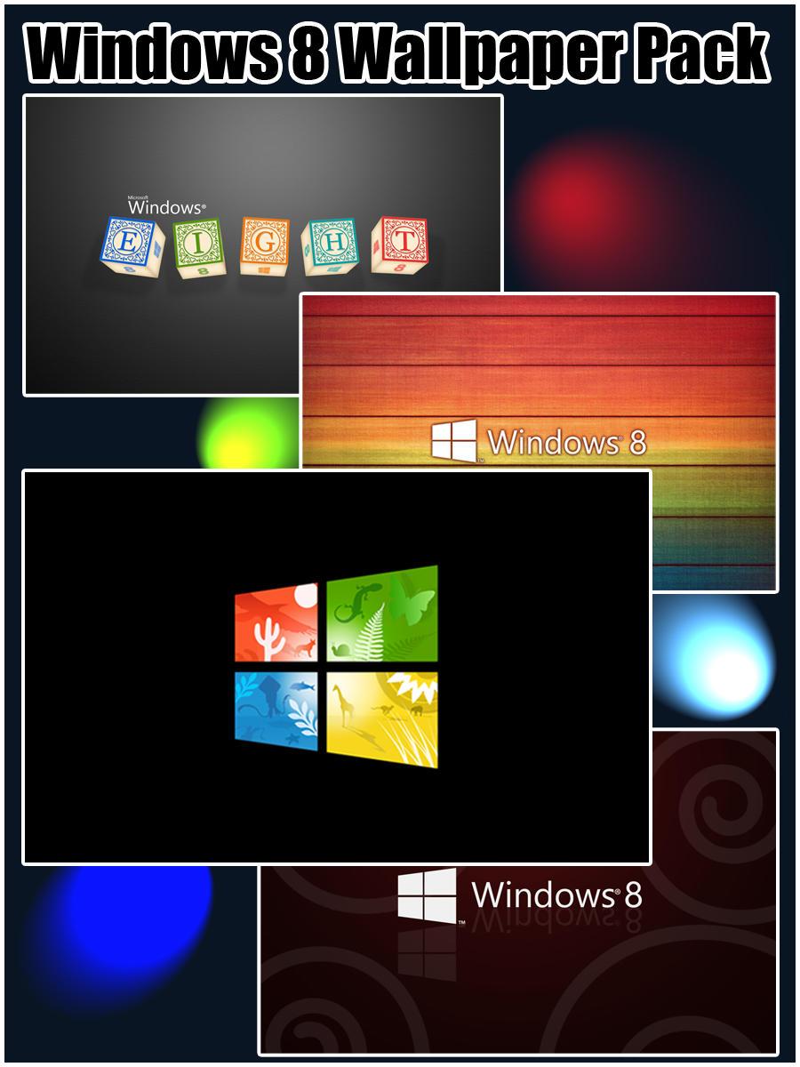 Windows 8 Wallpaper Pack by TravisLutz