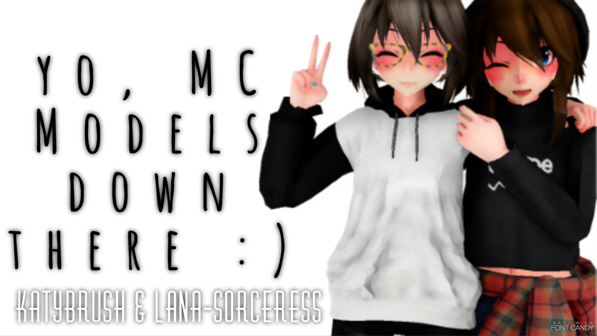 MMD MysMe MC DL Pack ! by Alex-MMD-Studios