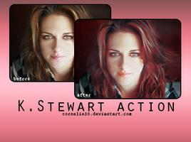 K.Stewart action by Cornelie20