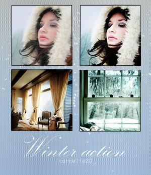 Winter act.