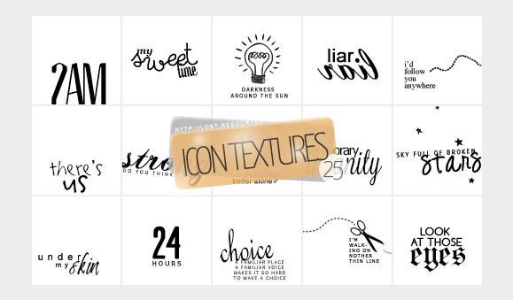 25 Alexz Johnson lyrics Icon Textures - TLR by TheLostResources