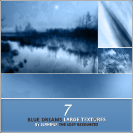 7 Blue Dreams Textures - TLR by TheLostResources