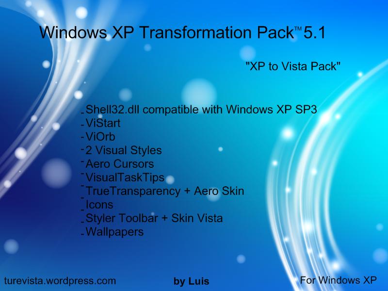 Windows XP Transformation Pack by WindowsLuis on DeviantArt