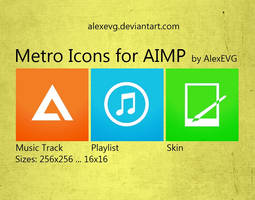 Metro Icons for AIMP by AlexEVG