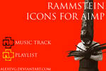 Rammstein Icons for AIMP