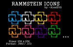 Rammstein Icons