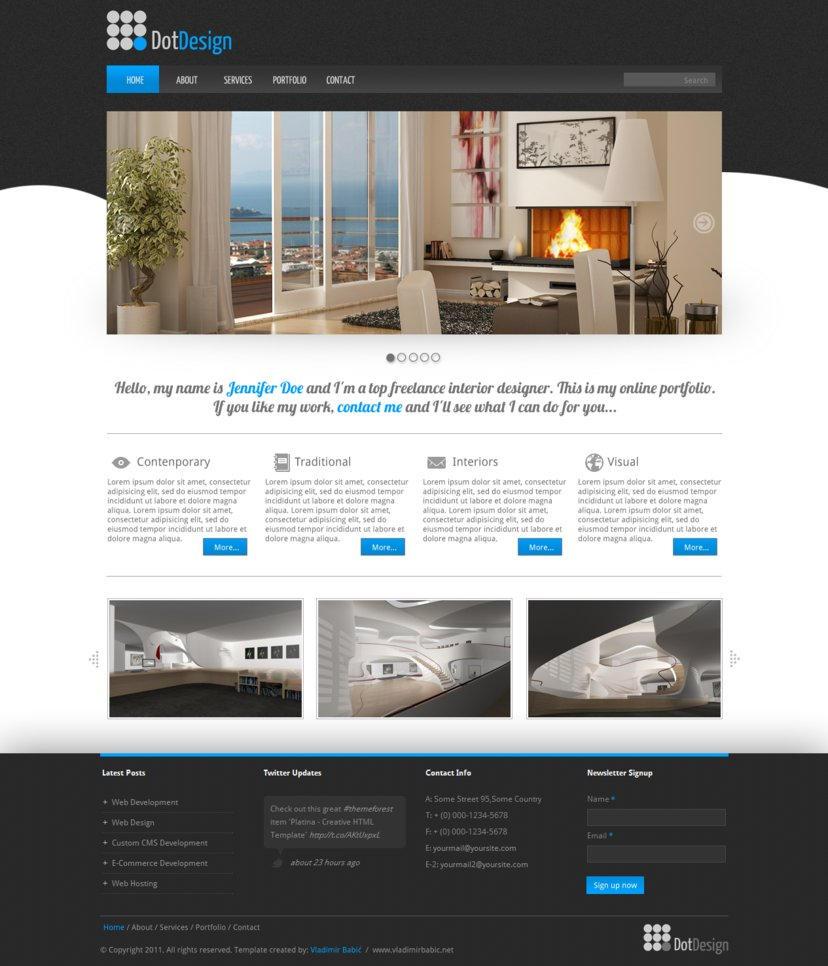 Dot Interior - Free PSD by vBabic