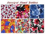 Fanciful Florals Textile Textures
