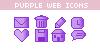 Purpleicons by jealousyheart