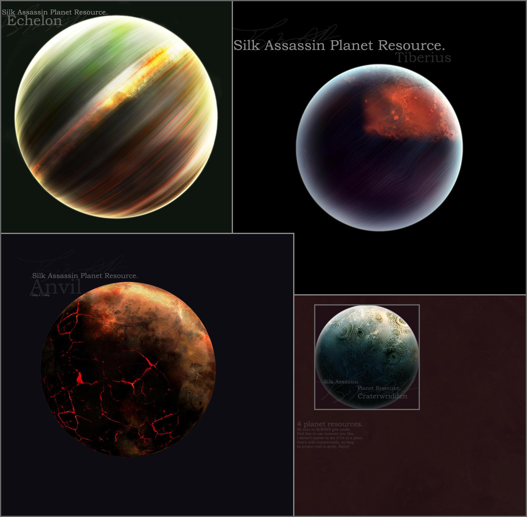 SilkAssassin Planet Resource. by SilkAssassin