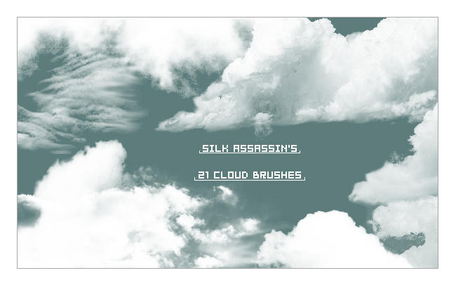 SilkAssassins Cloud Brushes by SilkAssassin