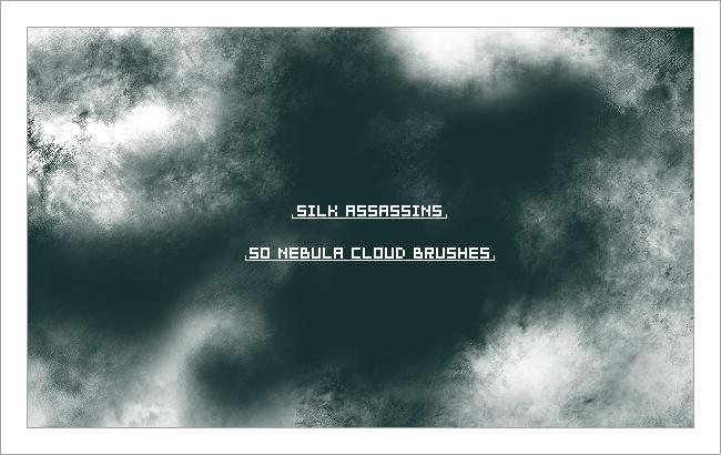 SilkAssassins Nebula Brushes by SilkAssassin