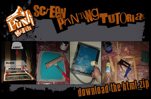 Screen Printing Tutorial by RussianPunx