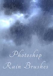 Rain Brushes by amorphisss