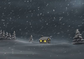 Snow Brush by amorphisss