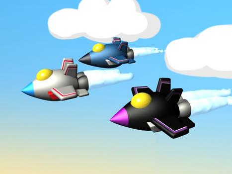 Jetlings animated