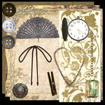Steampunk Scrapbooking Kit